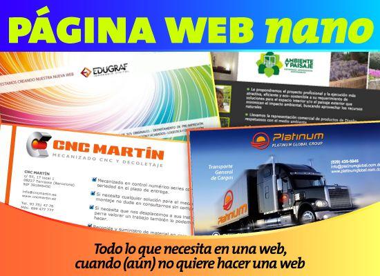 Plan web nano