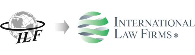 Rediseño de logotipo de asociación de abogados ILF