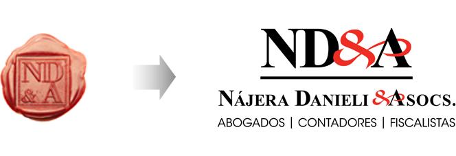 Rediseño de logotipo de abogados NDA